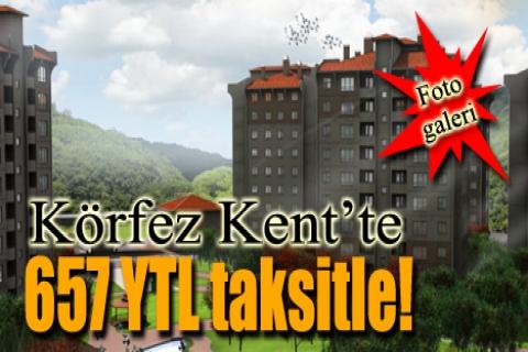 Körfez Kent'te 79 bin YTL'ye!