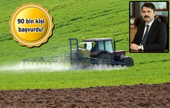 Hazineye ait tarım arazileri için başvurular 4 gün sonra bitiyor!