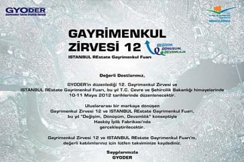 ISTANBUL REstate Gayrimenkul Fuarı 10 Mayıs'ta başlıyor!
