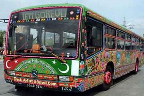 İBB'den Pakistan Lahor'a 100 İkarus otobüs hibe edildi!
