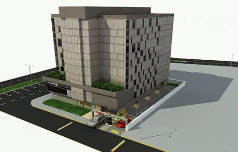 Alsancak Hocazade Camii karşısına 11 katlı otopark inşa edilecek!