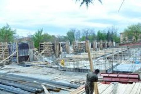 Ankara Voleybol kampüsü inşaatında son durum!