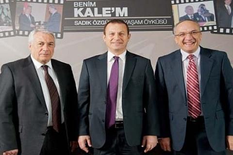 Kale Holding'in patronu Sadık Özgür'ün hayatı kitap oldu: Benim Kale'm!