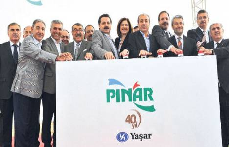 Yaşar Holding Şanlıurfa'da süt fabrikasının temelini attı!