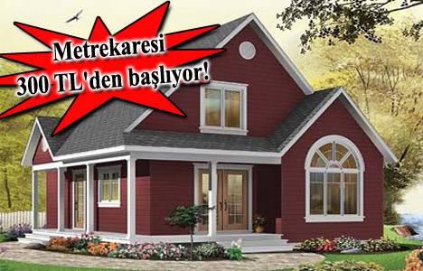 Prefabrik ev fiyatları İzmir 2013!