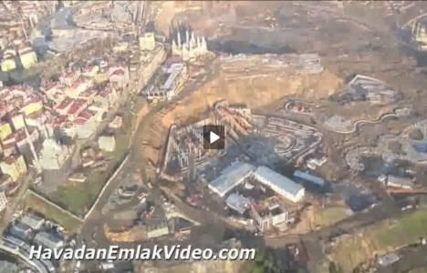 Vialand Eyüp Temapark'ın inşaatından son görüntüler!