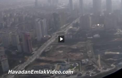 Rönesans İnşaat Ataşehir arsasının havadan görüntüleri!