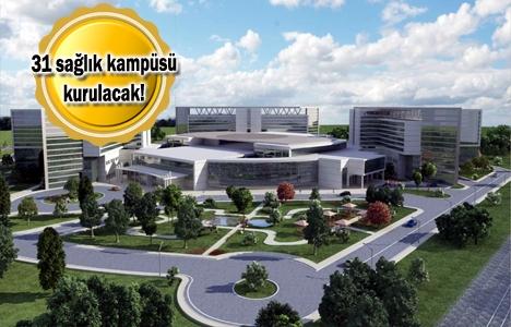 Şehir hastanelerinde yeni projeler geliyor!