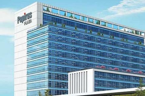 Kağıthane Papirus Plaza'da metrekaresi 3 bin 475 dolara ofis!