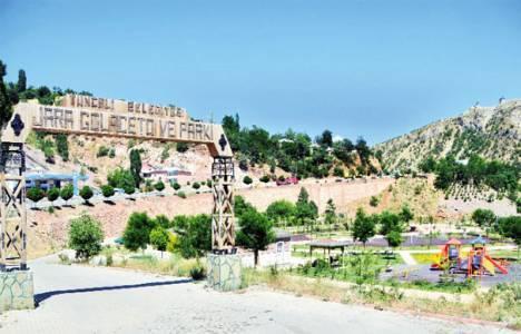 Tunceli'de parkın yıkılacağı iddialarına cevap geldi!