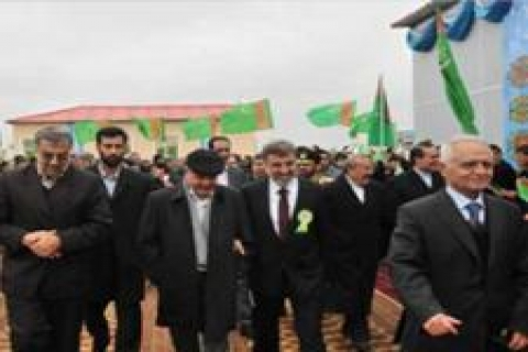 Türk şirketleri Türkmenistan'daki projeleri teslim etti