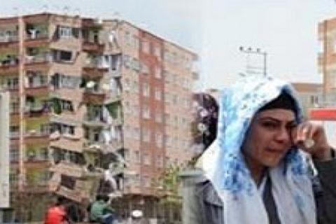 Diyarbakır'da 7 katlı bina çöktü!