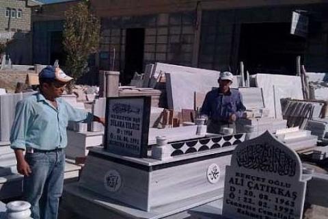 Tokat Niksar Günebakan Belediyesi'nin mezarlık arazisine bile haciz geldi!