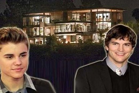 Ashton Kutcher ile