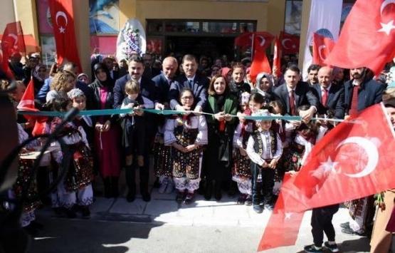 TOKİ Hanımeli Kültür Sanat Merkezi açıldı!