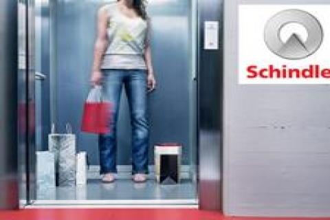 Schindler 67 asansörle