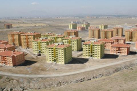 TOKİ Kayseri'de 580 konut yaptıracak