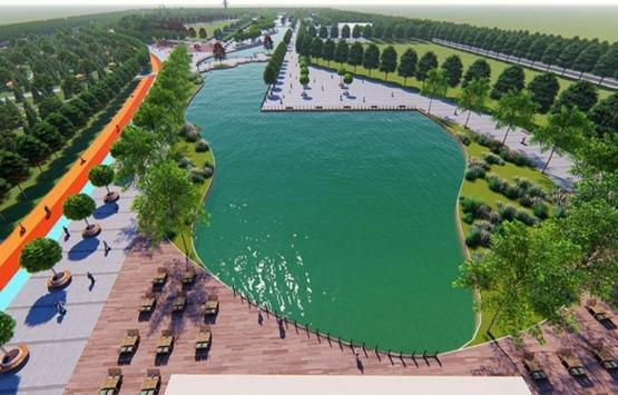 Kayseri'ye 101 milyon TL'lik millet bahçesi!