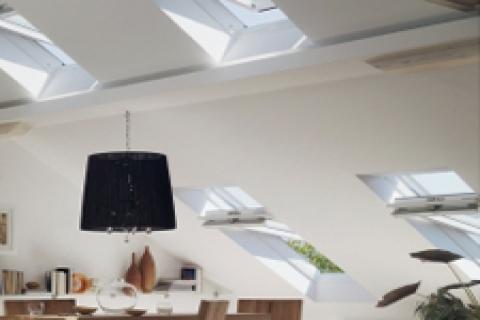 Velux'ten yeni uzaktan kumandalı çatı penceresi
