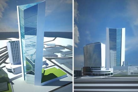 Yeşil Plaza Hotel'in inşaatı bu yıl başlayacak!