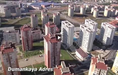 Dumankaya'nın 8 projesi havadan görüntülendi!