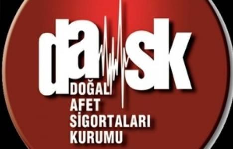 DASK ücretleri 2013!
