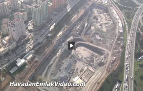 Metropol İstanbul Ataşehir'in havadan son videosu!