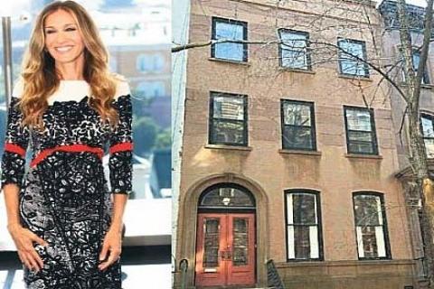 Carrie Bradshaw karakterinin dizideki evi 17 milyon liraya satılıyor!