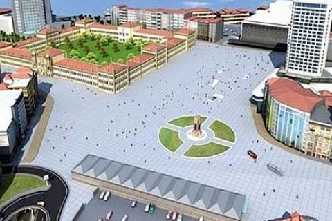 Mimar Hakan Kıran, Taksim Meydanı projesinde yüksek yapıların yıkılmasını savunuyor!