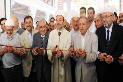Hz. Ali Camisi açıldı! Süleyman Çetinsaya'ya plaket verildi!
