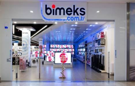 Bimeks Kıbrıs'taki mağazasının
