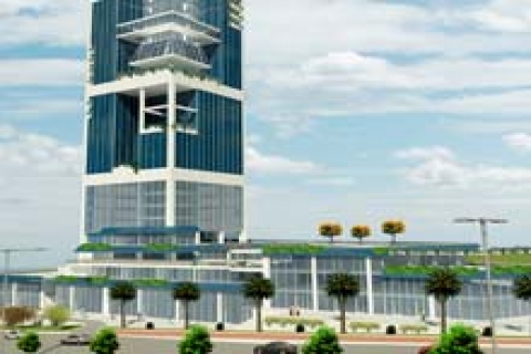 Skyport Residence'da 210 bin dolara