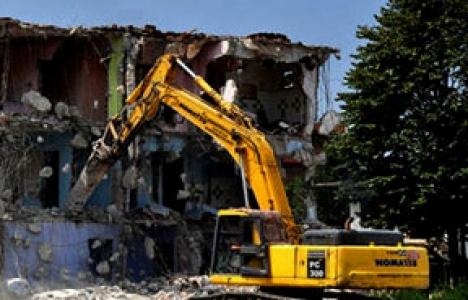 Binaların yıkılması için 5 teknik belirlendi!