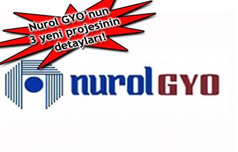 Nurol GYO'dan 3 yeni proje!