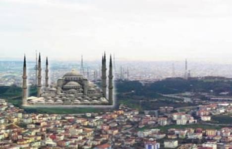 Çamlıca Cami'nin bu kez iç mimarisi tartışma konusu oldu!