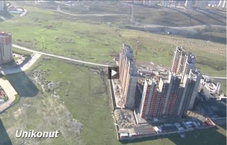 Ispartakule'de inşa edilen 6 projenin havadan görüntüleri!