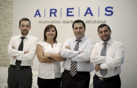 AREAS inşaat şirketlerine pazarlama ve satışta destek veriyor!