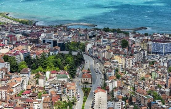 Trabzon'daki ruhsatsız binalar