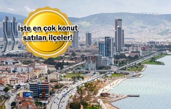 İzmir konut satışında Türkiye 3.'sü!
