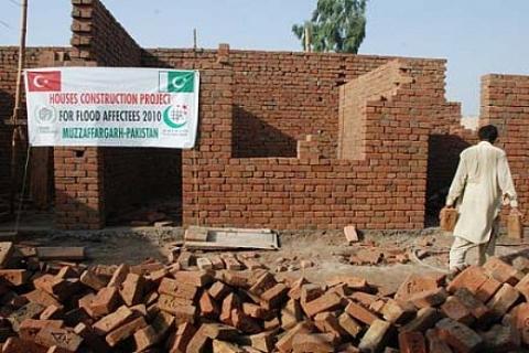 İHH'nin Pakistan'ın Muzaffergah