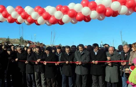 Sivas Kurt Deresi Vadi Park'ın 1.etabı törenle açıldı!