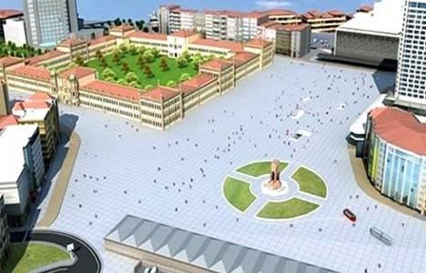 Taksim'i yayalaştırma projesinde