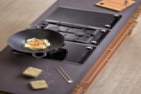 Siemens'ten mutfağını yenilemek istiyenlere ankastre Domino Serisi
