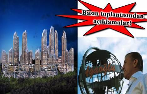 Ali Ağaoğlu Maslak 1453 projesi hakkındaki iddialara cevap verdi!