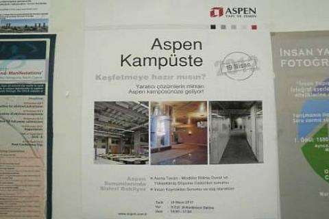 ASPEN kampuste: Deneyimini üniversiteli mimar ve mühendislerle paylaşıyor!