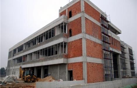 Uzunköprü'deki Kültür Sitesi inşaatı devam ediyor!