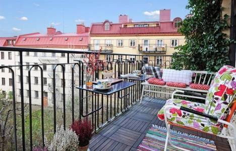Evinizin balkonunu ve