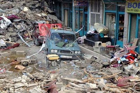 Van depreminden zarar