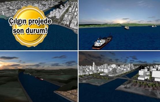 Kanal İstanbul projesi tam gaz! Tapu sınırları belirleniyor!