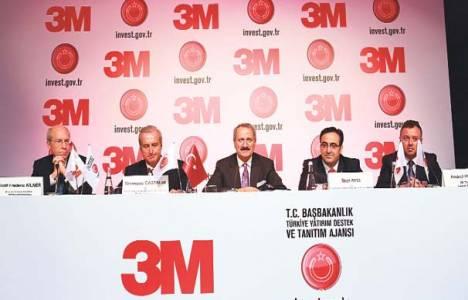 3M, Çorlu'da 500 milyon dolarlık yatırım üssü kuracak!